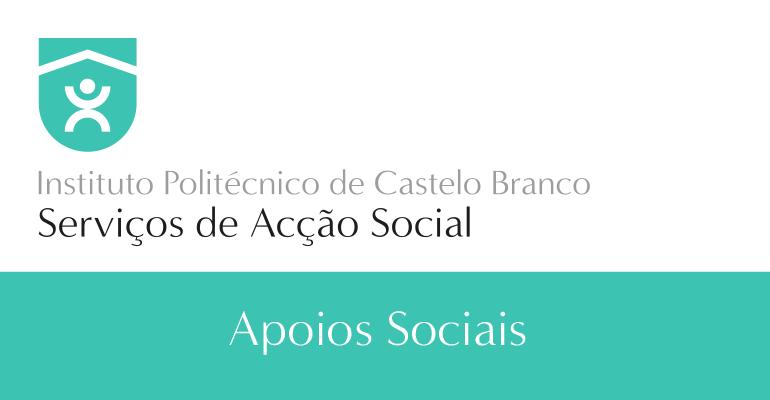 Apoios sociais aos estudantes do IPCB