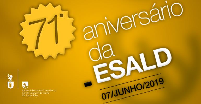 7 de junho | 71.º aniversário da ESALD - IPCB