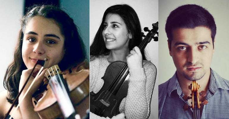 Alunos de Violino da ESART/ IPCB | Orquestra Mundial e Festival Aurora (Suécia)