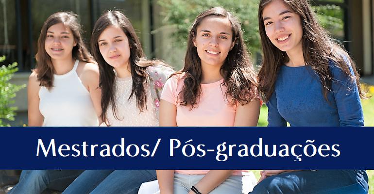 Candidaturas a Mestrados e Pós-graduações
