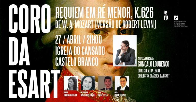 27 de abril | 21:00 horas | Igreja do Cansado, em Castelo Branco
