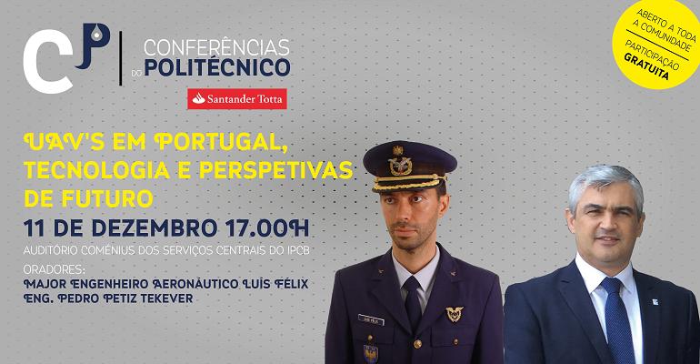 11 de dezembro   17:00 horas   Auditório Comenius - Serviços Centrais e da Presidência do IPCB