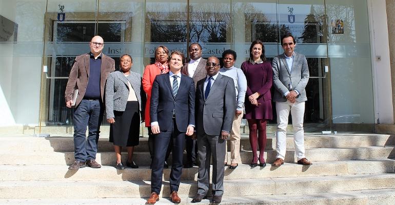 Instituto de Bolsas de Estudo de Moçambique visita o IPCB