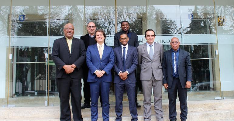 Presidente da Ilha do Maio visita o IPCB