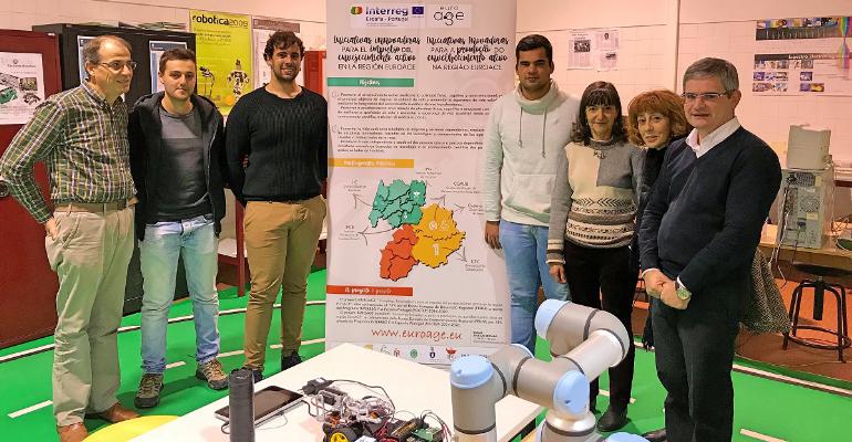 Projeto EuroAGE - Aplicações robóticas para interação com pessoas idosas