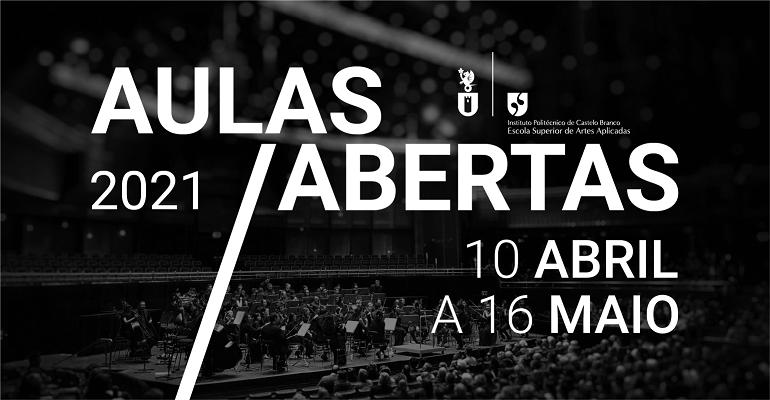 AULAS ABERTAS 2021 | Licenciatura em Música