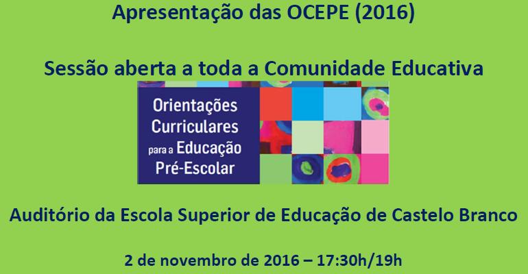 2 de novembro | 17:30 | Auditório da ESECB