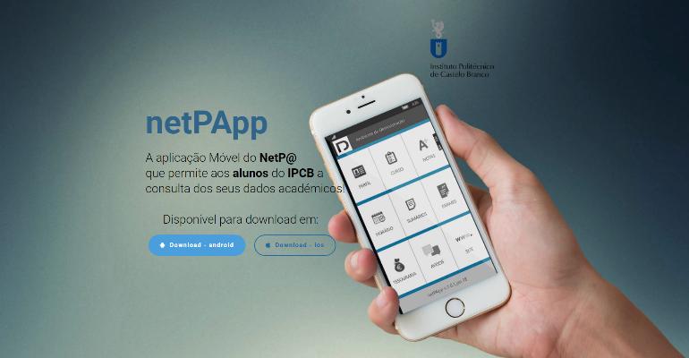 netPApp – Aplicação móvel do NetP@